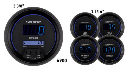 Cobalt Digital Kit Gauges 6900