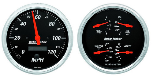 Designer Black Gauge Kit 1403
