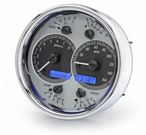 VHX-1019-S-B (Silver Alloy Style/Blue Backlighting)