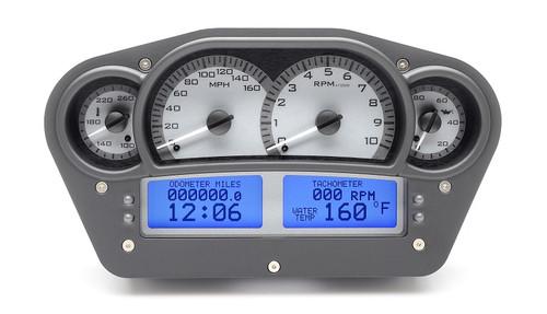 VHX-1100-S-B (Silver Alloy Style/Blue Backlighting)