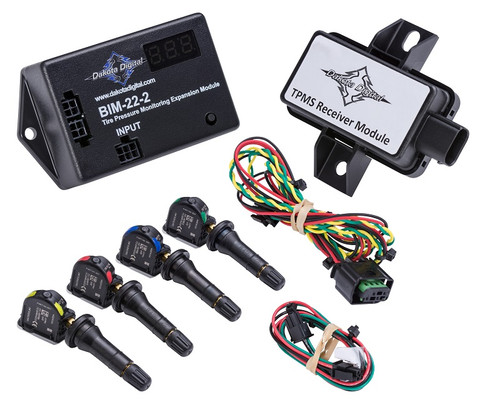 Dakota Digital Tire Pressure Monitoring System TPMS Expansion Module BIM-22-2