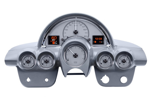 HDX-58C-VET-S (silver alloy style), dash housing is NOT included