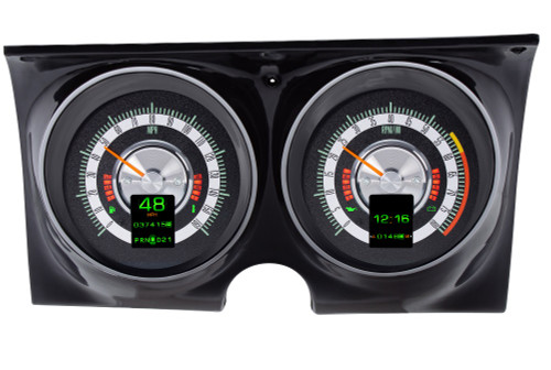 RTX-68C-CAM-X Emerald Backlighting, Daytime View, Bezel is NOT included