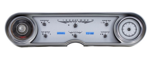 VHX-65C-CAD-S-B with SILVER ALLOY style and BLUE backlighting, bezel is NOT included