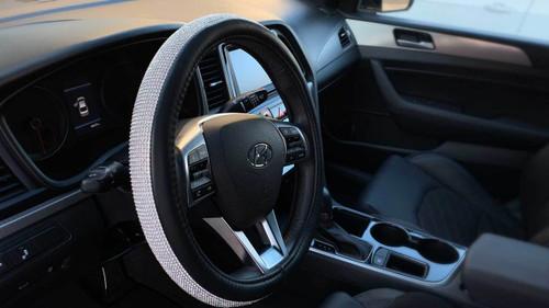 Prime Bling Steering Wheel Cover W Free Bling Ring Emblem Uwap Interior Chair Design Uwaporg
