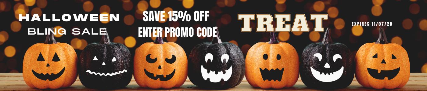 Halloween Sale-Save 15%-Code TREAT
