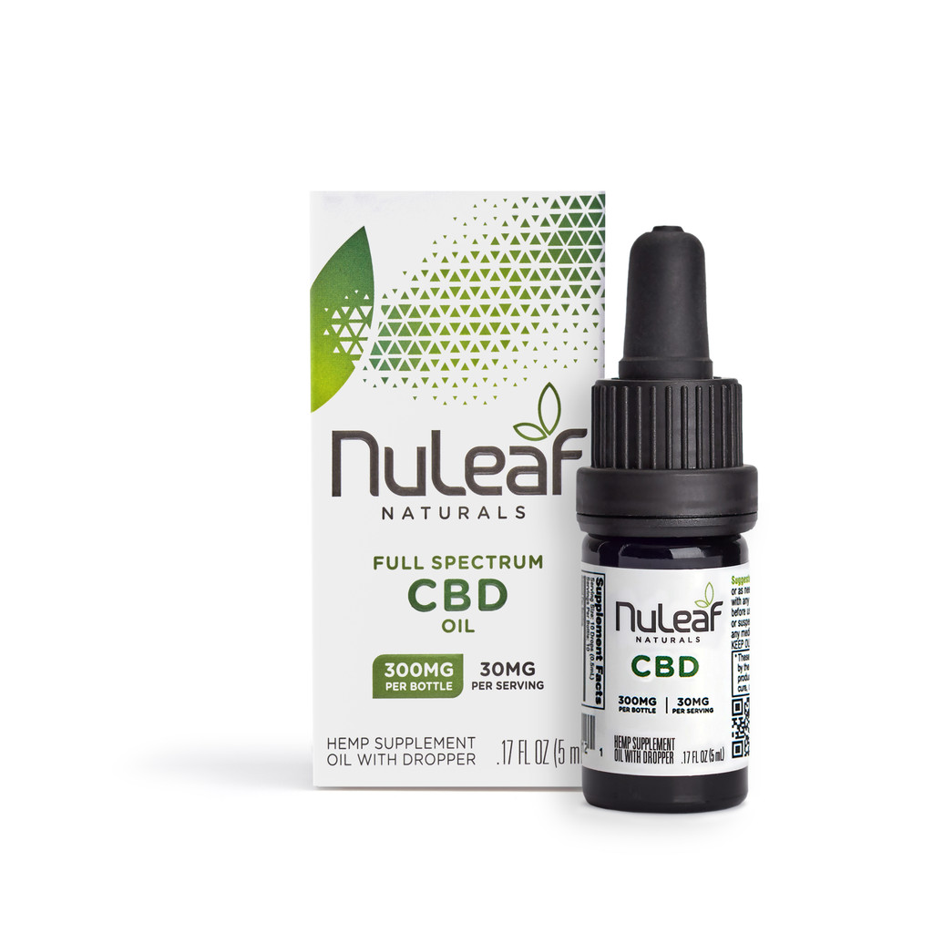 NuLeaf 300mg bottle cbd oil