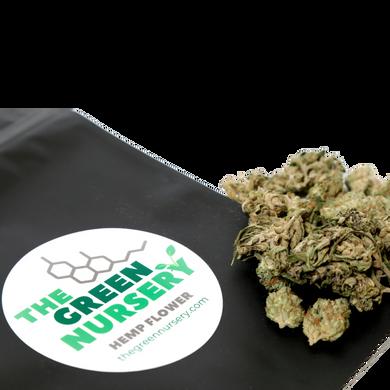 The Green Nursery Hemp Flower - Suver Haze