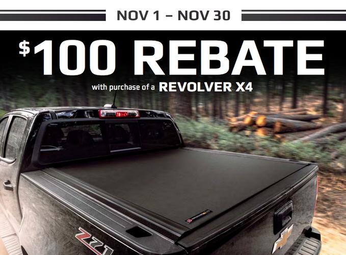 100 Rebate Bak Revolver X4 Tonneau Covers Black Friday Bed