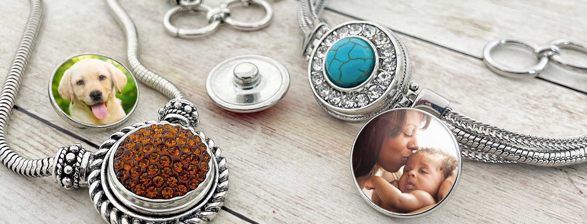 Snap jewelry charm bracelet by SnapAccents