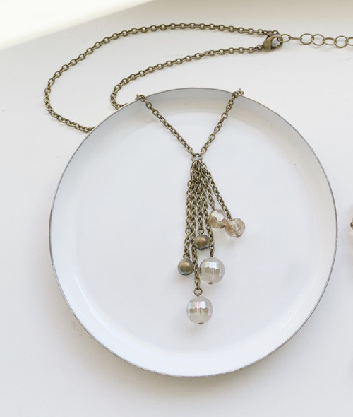 Simone Waterfall Necklace