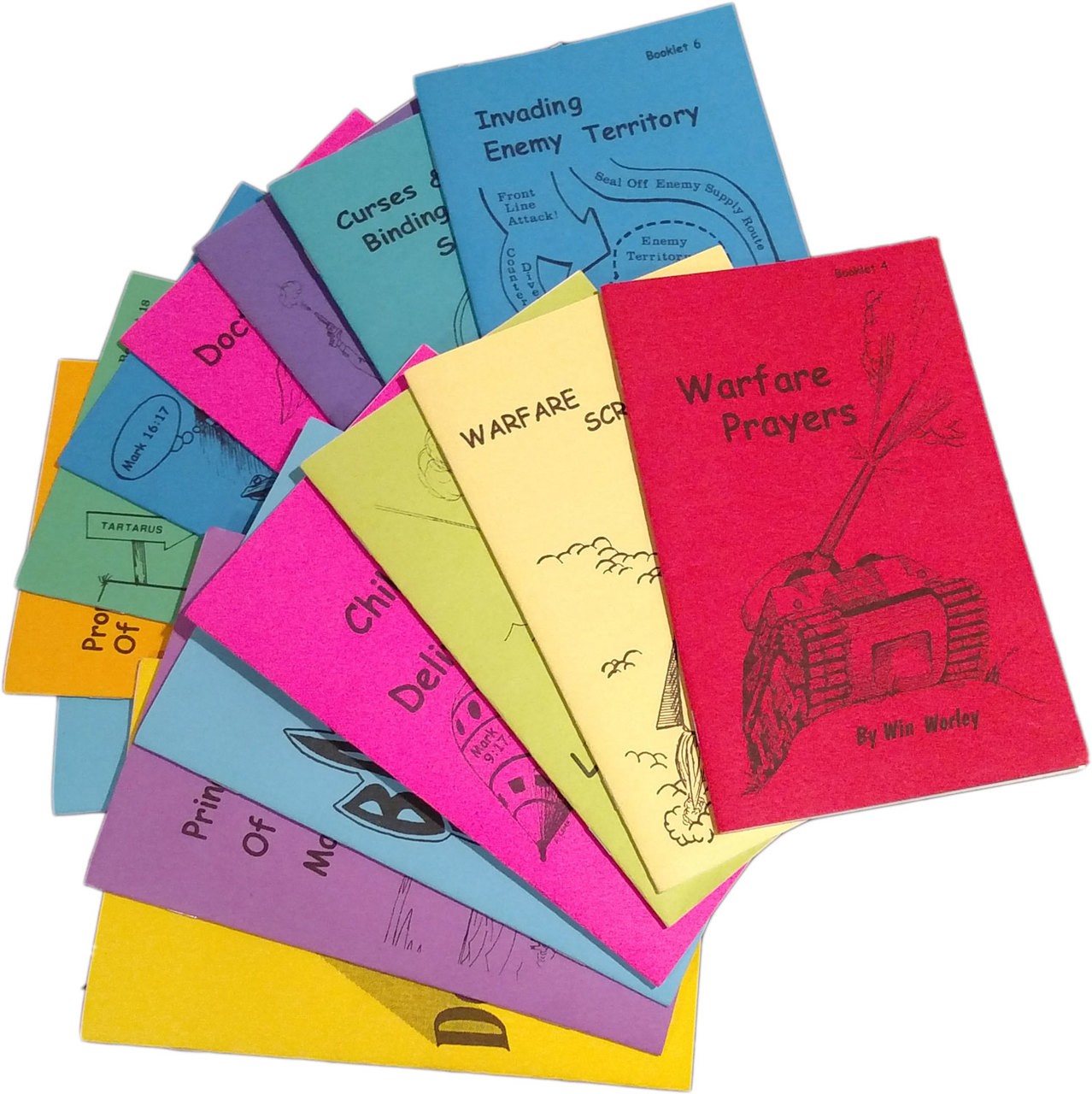 Win Worley Booklets - Complete Set