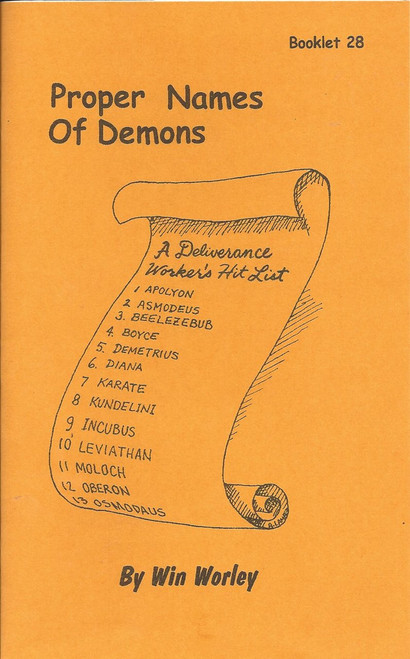 #28 - Proper Names of Demons