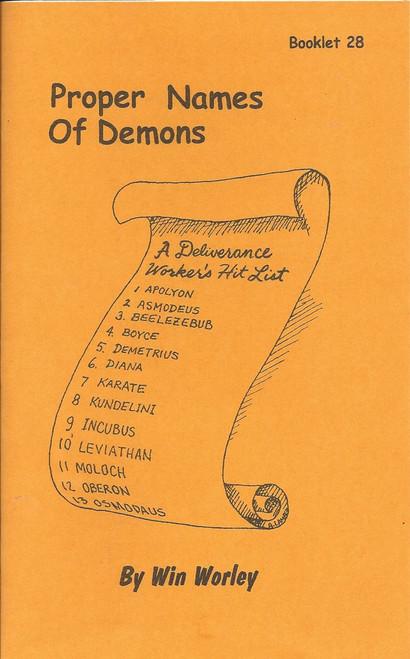 #28 - Proper Names of Demons