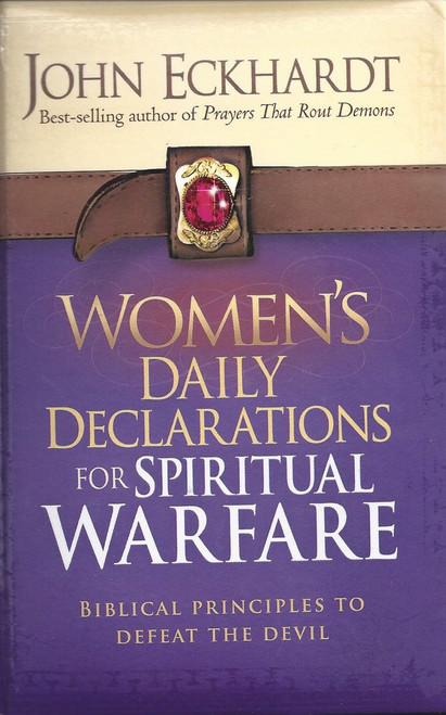 Women's Daily Declarations for Spiritual Warfare (2013)