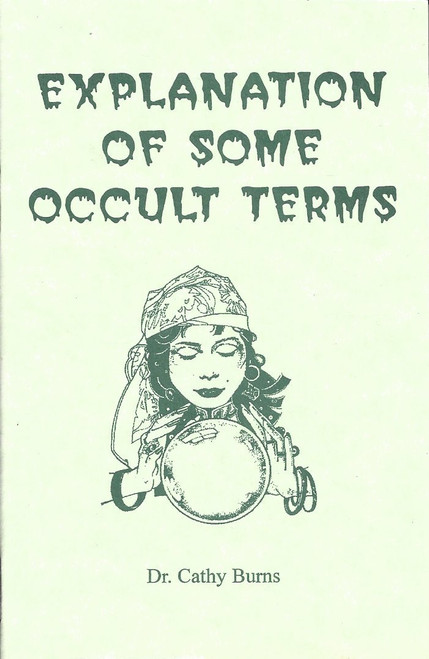 Explanation Of Some Occult Terms   (1999)