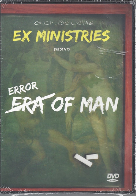 Error of Man DVD (2012)