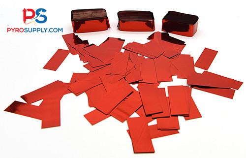 """2"""" Red Mylar Confetti"""