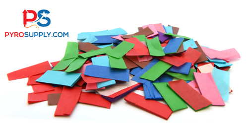 "2"" Variegated Paper Confetti"