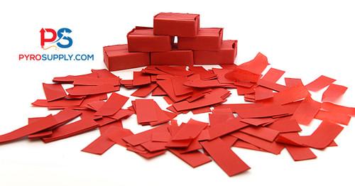 """2"""" Red Paper Confetti"""