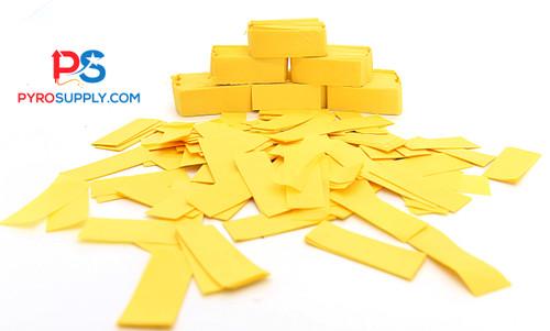 """2"""" Gold Paper Confetti"""