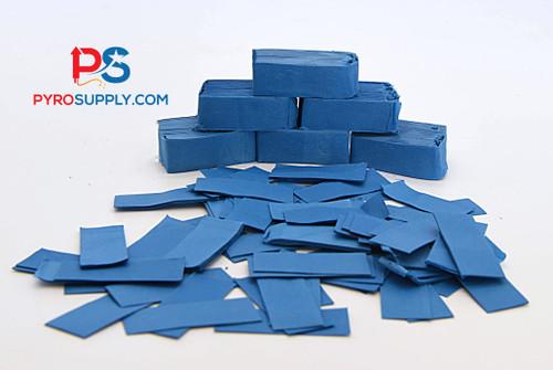"""2"""" Blue Paper Confetti"""