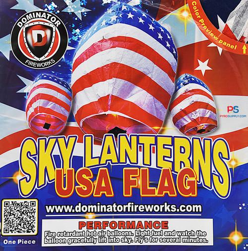 USA Sky Lantern