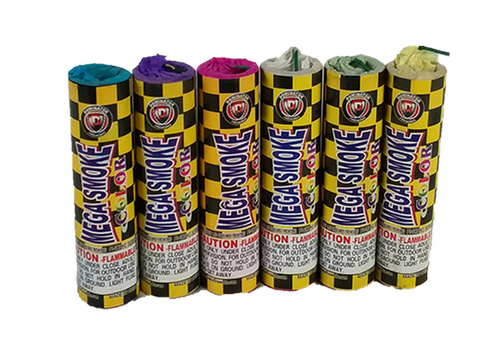 Mega Assorted Color Smoke Bombs