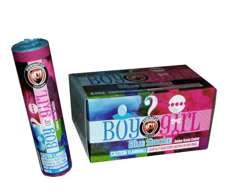 Gender Reveal Blue Smoke Bombs