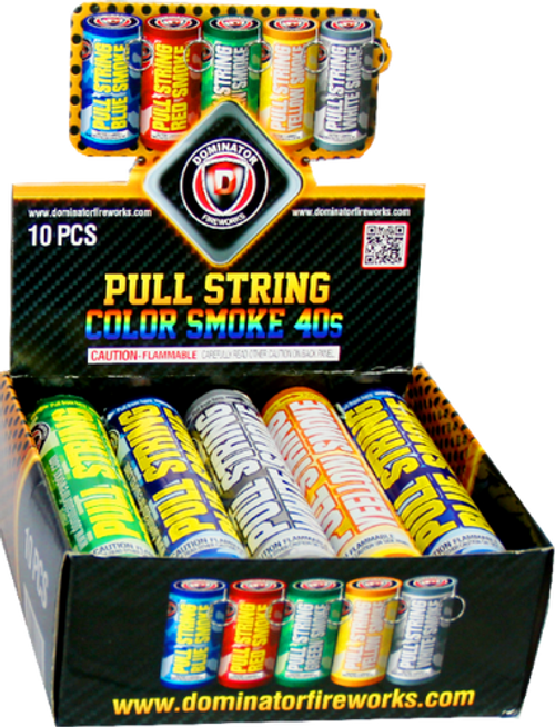 Pull String Color Smoke