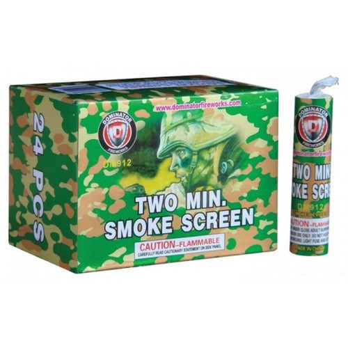 Two Minute White Smoke Screen Bombs