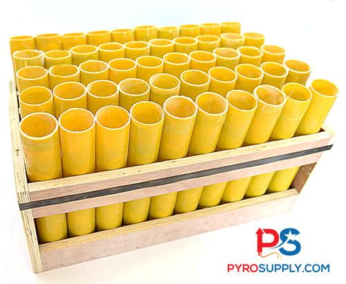 """1.91"""" Fiberglass rack of 50 display mortars"""