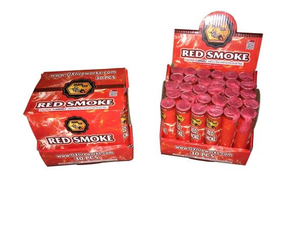 Red Color Smoke Bombs