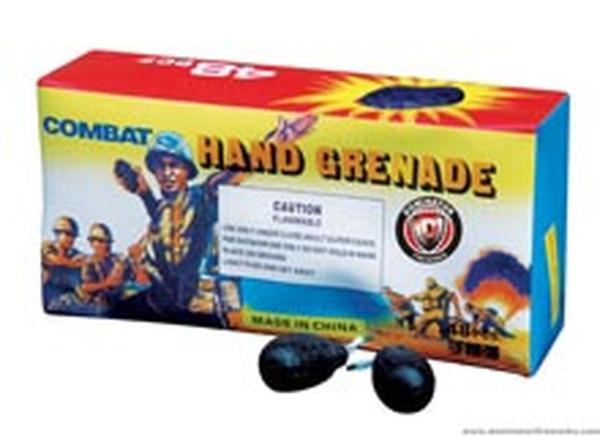 Hand Grenade smoke bomb