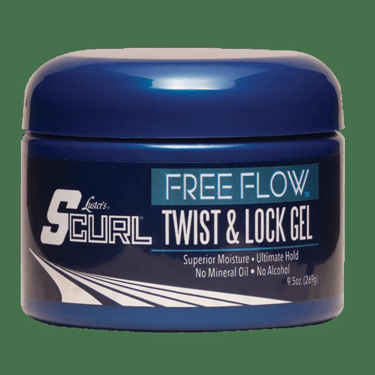 SCurl Free Flow Twist & Lock Gel
