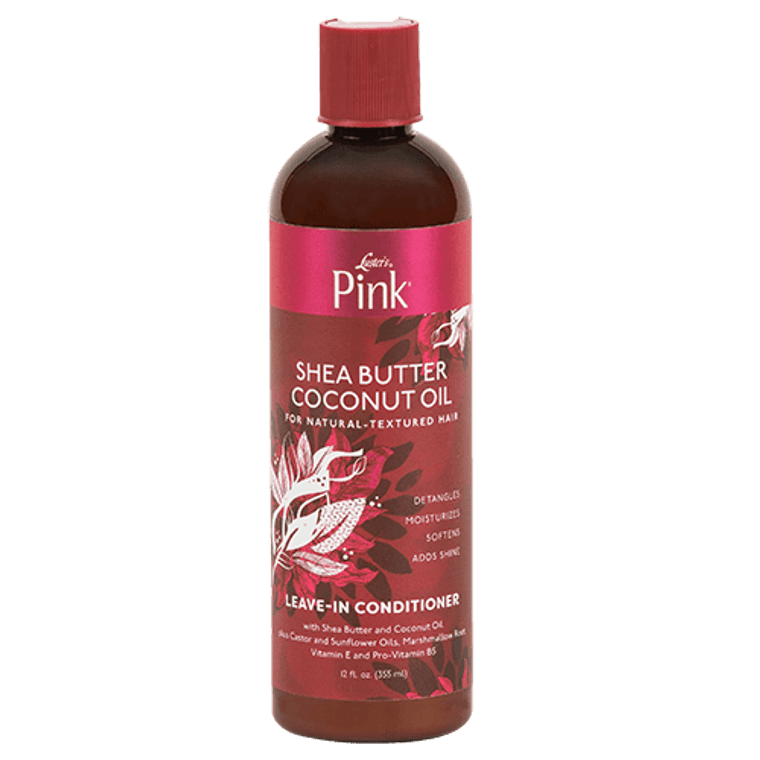 Pink Coconut Oil Silkening Leave in Conditioner
