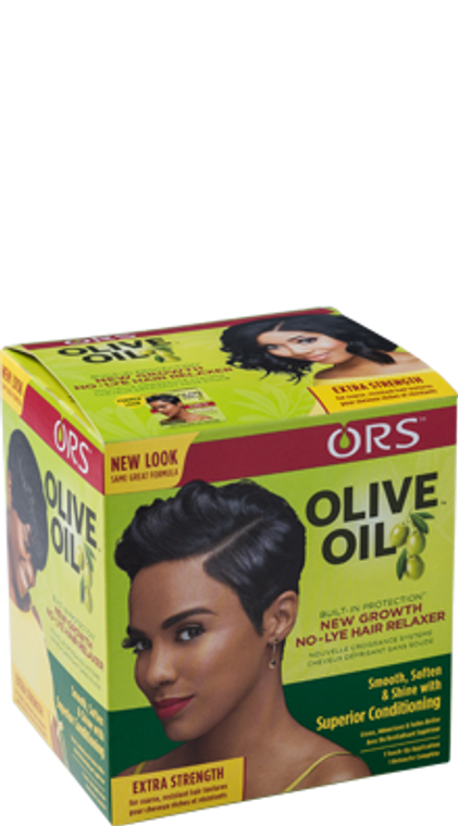 ORS New Growth NO-Lye Hair Relaxer Extra Strength, 8.11 oz.