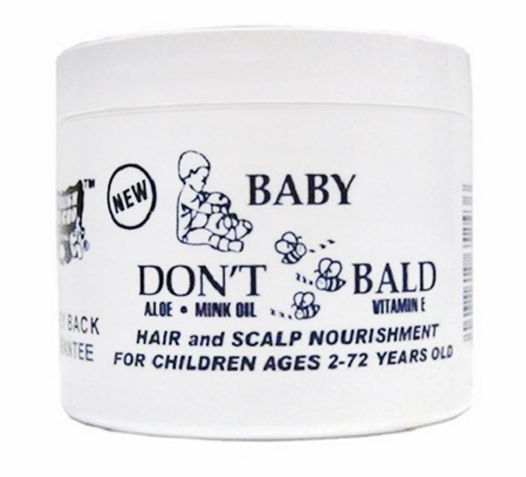 Baby Don't Be Bald Hair And Scalp Nourishment