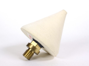 Flat Lap - Felt Cone