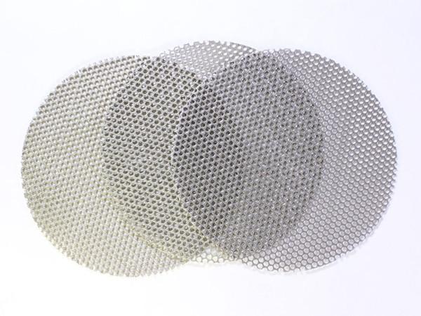 Discs - Perforated Diamond