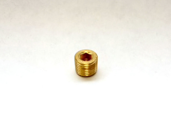 "1/4"" Brass Plug"
