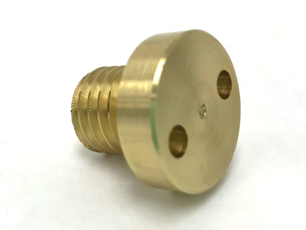 Flat Lap - Brass Plug