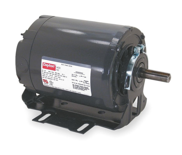 220V, 50Hz 1/3hp Split-Phase, Commercial Duty Motor