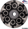 Diteq Brute 4 inch resin filled cup wheel coarse grit