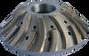 NICOLAI CNC SEGMENTED 45 DEGREE CORNER BREAKER Y30 DM60 SEGMENTED PRE-SHAPING WHEEL B35