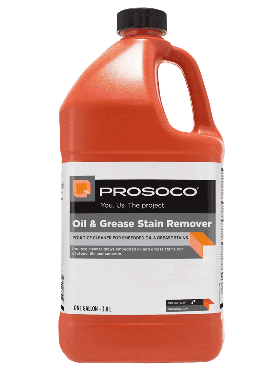 Concrete Stain Remover >> Prosoco Oil And Grease Stain Remover