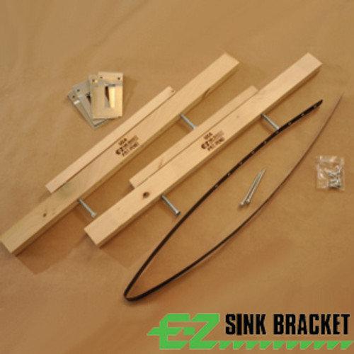 EZ Sink Bracket for Sink Installation - Rocket Supply - Concrete and Stone Tool Supply Store
