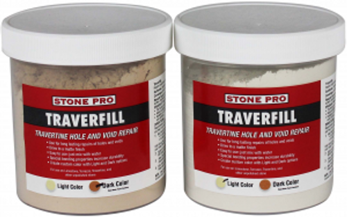 Stone Pro Traverfill – Travertine Hole Filler - Rocket Supply - Concrete and Stone Tool Supply Store