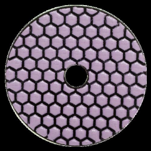 "Mercury 4"" Dry Diamond Polishing Pads"