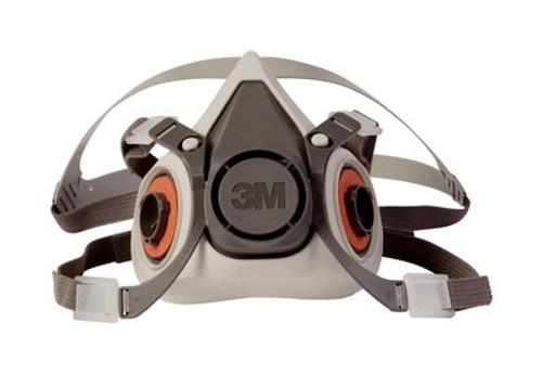 3M 6100 Half Respirator Mask (Small)